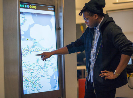 NYC Subways Deploy A Touch-Screen Network, Complete With Apps | The urban.NET | Scoop.it