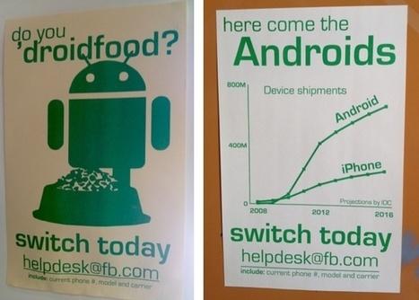 Facebook ne veut plus de l'iPhone en interne | Technologies & web - Trouvez votre formation sur www.nextformation.com | Scoop.it