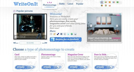 Photomontage Generator - WriteOnIt | Animal Webcams | Scoop.it