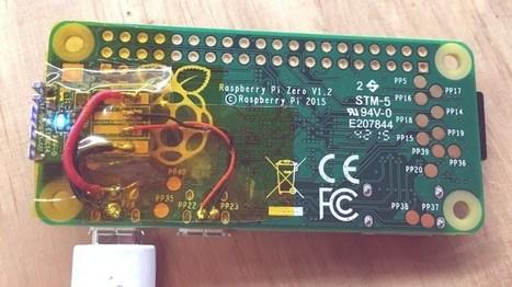 First Raspberry Pi Zero Hack – Piggy-Back WiFi. | Raspberry Pi | Scoop.it