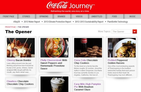 Coca-Cola's storytelling: three lessons on content marketing and creativity | CW - Usefull Web stuff | Scoop.it