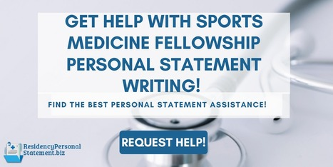 personal statement about sports