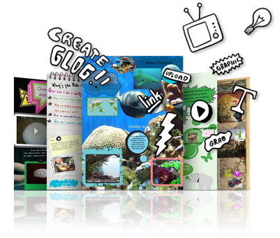 What is Glogster edu?   Glogster EDU - 21st century multimedia tool for educators, teachers and students   Web 2.0 in the Elementary Classroom   Scoop.it