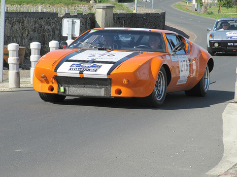 DE TOMASO Pantera Gr. IV (1973) | Voitures anciennes - Classic cars - Concept cars | Scoop.it