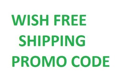 wish free shipping code 2018 existing customers
