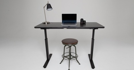 The Affordable Desk That Could Make Standing at the Office Mainstream | Writer, Book Reviewer, Researcher, Sunday School Teacher | Scoop.it