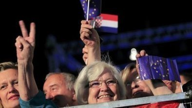 Croatia celebrates on joining EU | Blunnie's Geo Portfolio | Scoop.it