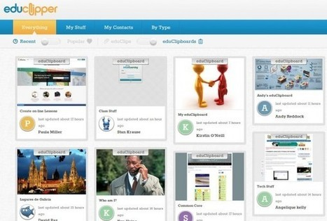 eduClipper, el Pinterest de contenido educativo, se integra con Edmodo | Bilingual News for Students | Scoop.it