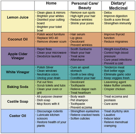 72 Uses For Simple Household Products To Save Money & Avoid Toxins | wellness | Scoop.it
