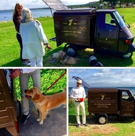 Un foodtruck...pour chiens | streetmarketing | Scoop.it