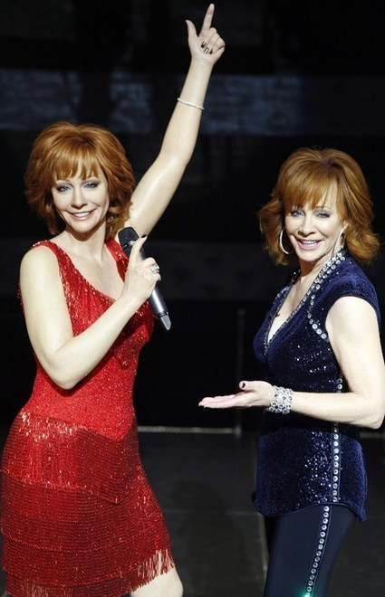 Reba Reveals Red Dress Figure For Madame Tussauds Nashville | Country Music Today | Scoop.it