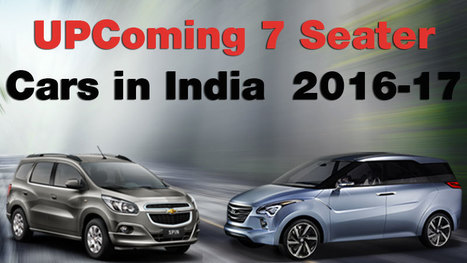 List Of Upcoming 7 Seater Cars In India 2016 17