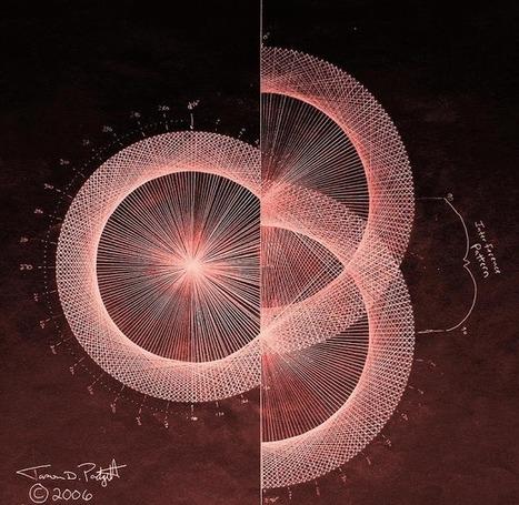 Une réalité mathématique dessinée en fractales par un homme atteint par le syndrome du savant. - GuruMeditation | Mutations et convergences discordantes | Scoop.it