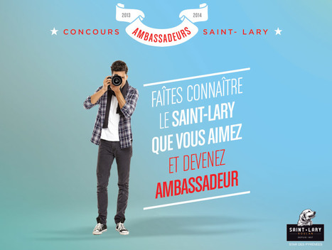 Recrutement de 6 ambassadeurs pour Saint Lary | Pour améliorer l'efficacité de votre force de vente, une seule adresse: mMm (formation_ conseil_ animation) en marketing management........................ des entreprises et des organisations .......... mehenni Marketing management......... | Scoop.it