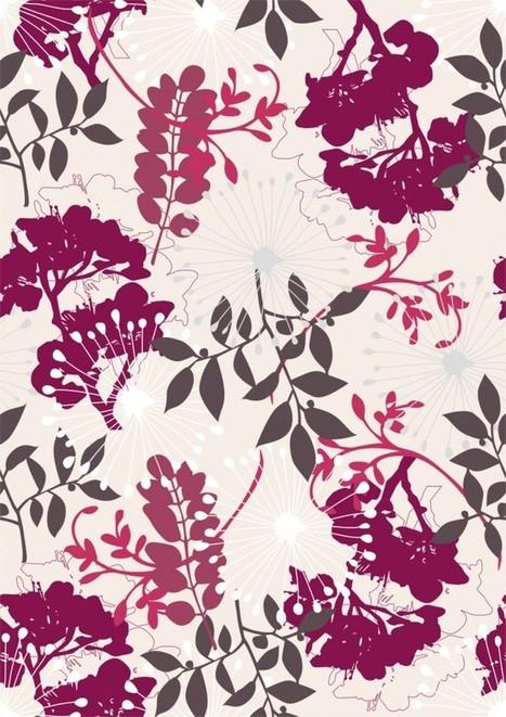 Motif floral gratuit à télécharger pour tous ses projets ! | Stickerzlab, des astuces et des idées déco pour tous | décoration & déco | Scoop.it