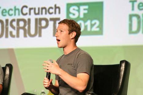 Zuckerberg, prima intervista post IPO e risolleva il titolo | InTime - Social Media Magazine | Scoop.it
