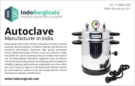 Autoclave Manufacturer in India | Buy Medical E