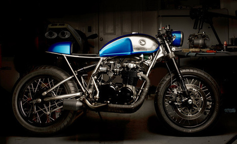 Bobber Inspiration | CB550 cafe racer | Bobbers and Custom Motorcycles | Rogermotard | Scoop.it