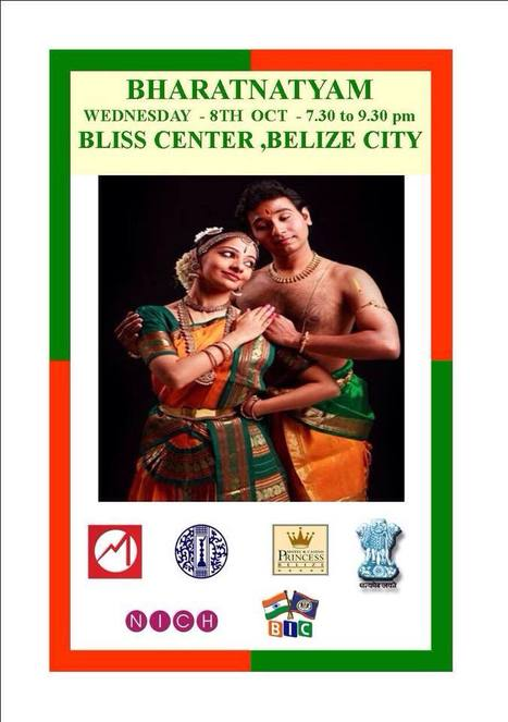 Traditional Indian Dance featured in Belize City  - Bharatnatyam on 10/08/2014 | Travel - Things to do in Belize | Scoop.it