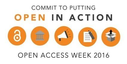 Semana Internacional del #AccesoAbierto 2016 | Bibliotecas y Educación Superior | Scoop.it