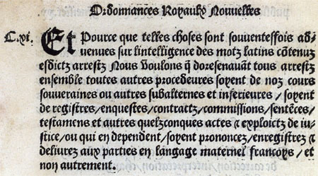 Assemblée nationale - Histoire : Ordonnance de Villers-Cotterets   GenealoNet   Scoop.it