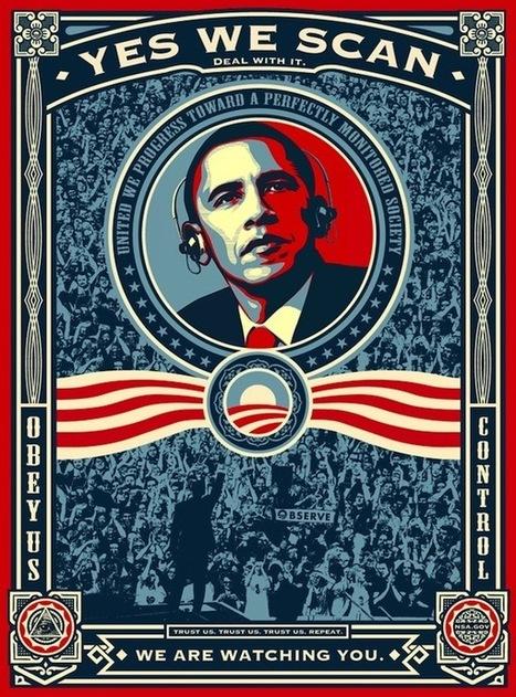 Famous Obama Portrait Artist Approves Of Parodies | Coffee Break | Scoop.it