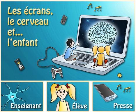 Les écrans, le cerveau et... l'enfant   Le site de la Fondation La main à la pâte   Must Read articles: Apps and eBooks for kids   Scoop.it