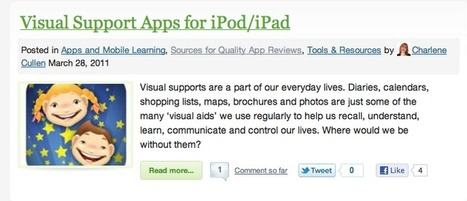 Apps in Education: iPad Resources for Students with Special Needs: Spectronics | AppsinEducation | Scoop.it