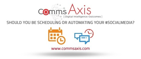 Should you be scheduling or automating your #socialmedia?   Google + Applications   Scoop.it