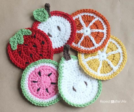 Veggies Amigurumi Food Free Crochet Pattern (com imagens) | Frutas ... | 393x467