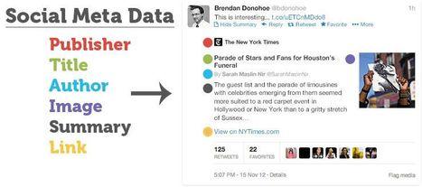 Social Meta Data: Must-Have Social Meta Tags for Twitter, Google+, Facebook and More   Social Media   Scoop.it