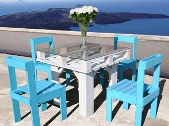 Build your own table and chairs from shipping pallets | Emotional Branding | Scoop.it