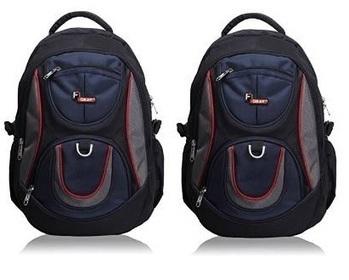 73488fe446 F Gear Axe Black Blue School Bag worth 1850 for...