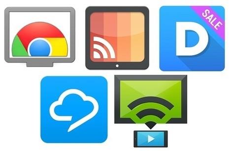 Cinco aplicaciones para sacarle provecho a Chromecast | MLKtoSCL | Scoop.it