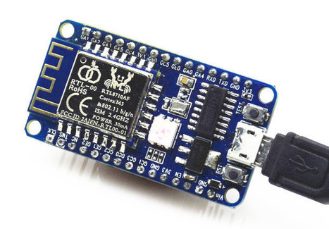 $10 RTLDuino is an Arduino Compatible WiFi IoT Board based on Realtek RTL8710AF WiSoC | Embedded Systems News | Scoop.it