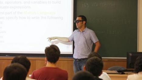 La réalité augmentée exploitée dans l'enseignement, des chercheurs créent des lunettes pour renforcer l'interaction entre enseignants et etudiants | Pédagogie en actions | Scoop.it