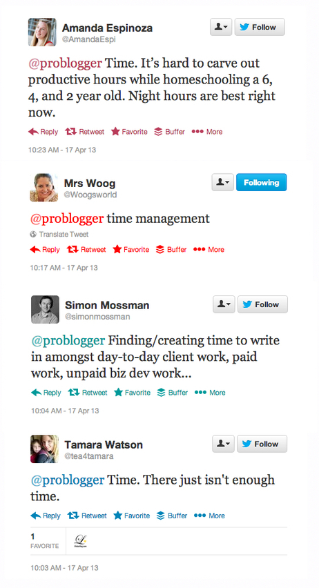 7 Tips for Busy Bloggers on Finding Time to Blog : @ProBlogger | Bloggertips | Scoop.it
