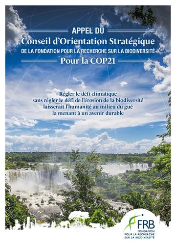 Appel du COS - Fondation pour la Recherche sur la Biodiversité - FRB | Transitions | Scoop.it