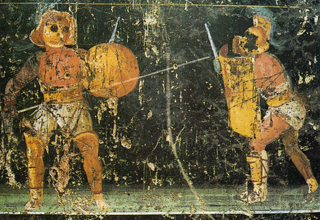 Ser gladiador en Roma (Curso a distancia) | Centro de Estudios Artísticos Elba | Scoop.it