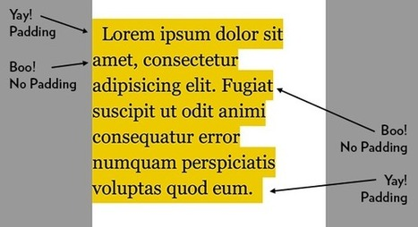 Multi-Line Padded Text | HTML5 CSS3 | Scoop.it