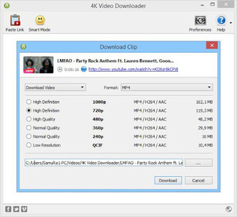4k video downloader 4.1 license key free