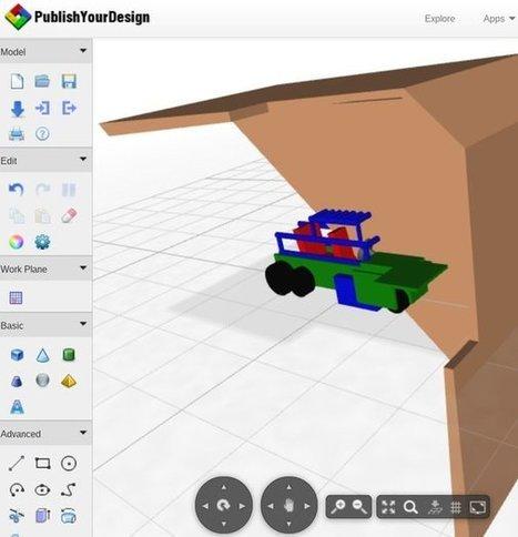 Free Web Based 3D Modeling Software: Publish Yo... | Visualisering i undervisning | Scoop.it