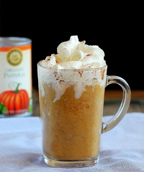 Healthy makeover: Pumpkin Spice Frappuccinos | Annie Haven | Haven Brand | Scoop.it