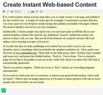 Create Web Content Instantly | Techy Stuff | Scoop.it