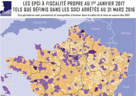 FUSIONS intercommunales : 35 498 communes -Éduscol HG | URBANmedias | Scoop.it