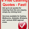Party and Corporate Catering in Sydney