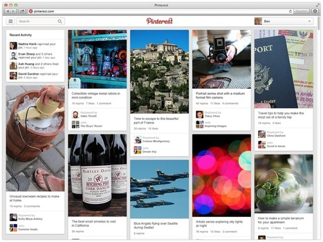 Pinterest debuts style makeover with fresh new look, tighter backend | BEAUTY + SOCIAL MEDIA | Scoop.it