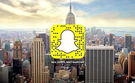 On peut désormais acheter ou louer un appartement grâce à Snapchat | Immobilier | Scoop.it
