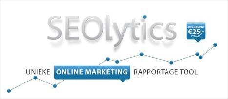 SEOlytics, de onmisbare online marketing tool! | Content marketing en SEO | Scoop.it