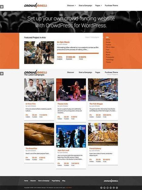 5 Thèmes Worpress pour créer un site de crowdfunding | Trucs, Conseils et Astuces | Scoop.it